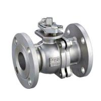 China High Mounting Pad Stainless Steel Ball Valve Flanged Type DN10 - DN400 on sale