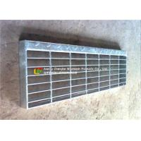 Quality T1 / T2 Steel Stair Treads Grating Wear - Resistant Preventing Dirt Deposition wholesale