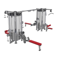 Quality Compact Multi Station Workout Machine Steel Frame Material 3.5mm Tube Thick wholesale