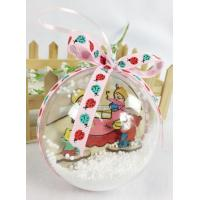 China Christmas tree decor beautiful ball on sale