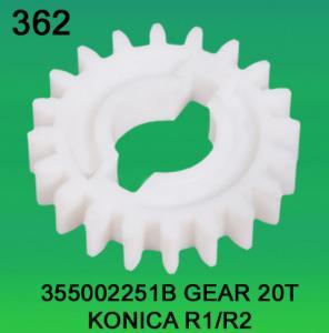 Quality 355002251B / 3550 02251B GEAR TEETH-20 FOR KONICA R1,R2 minilab wholesale