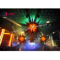 Quality Night Club Custom Inflatable LED Light , Hanging Ceiling Decoration For Party wholesale