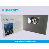 Buy cheap Multi Player Automatic Video Gift Card Video Leather Production Business Cards product