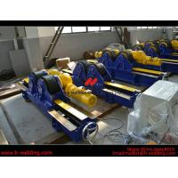 Cheap Automatic Pipe Welding Rotator Vessel Welding Turning Bed With Rubber Roller for sale