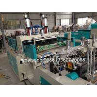 Quality AUTOMATIC High Speed Double line T-shirt plastic bag making machine price wholesale