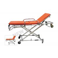 Quality Multi - Lever Aluminum Alloy X - frame First Aid Ambulance Stretcher wholesale