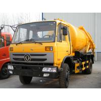 Quality 2500 Gallons sewage suction truck sino 4x2 sewage collector tank truck 10cbm wholesale