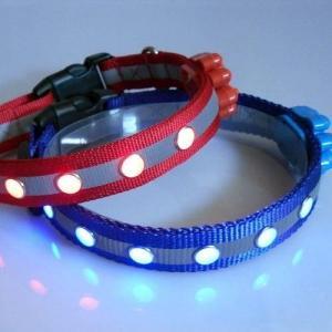 Quality Fashion LED Flashing PET Collar,Mix Order Available wholesale
