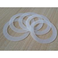 China Close Cell Silicone Rubber Washers 10-40 Shore A Hardness 0.5-1.0g/Cm³ Density on sale