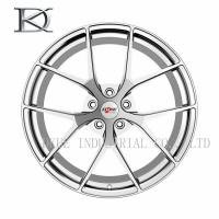 Professional OEM Aluminum Forged Wheels One Piece With 18 Spokes