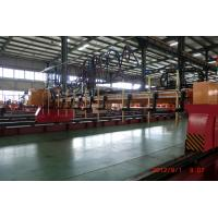 Quality Plasma Cutter Cnc Machine , Profile Cutting Machine For Metal Plate 4000 x 10000 wholesale