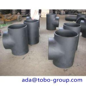 Cheap Sch5-Sch160 STD XS XXS Welding Stainless Steel Tee 1/2-60 INCH for sale