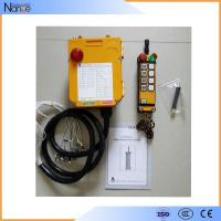 Quality Handheld Nylon-Fiber Housing Industrial Radio Remote Controller , TELECRANE F24-10S wholesale