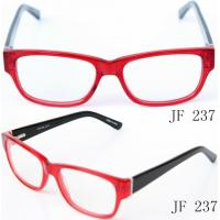 Quality Classical Acetate Eyeglass Frames For Women, Red Ladies Acetate Optical Frames wholesale