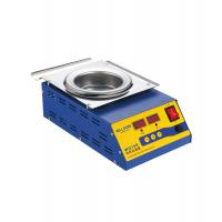 Cheap Round Lead Free Dip Soldering Pot Titanium Material 500W 2.0KG Melting Capacity for sale