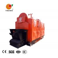Quality Horizontal Biomass Fired Steam Boiler , Wood Fired Hot Water Boiler 1-20 T/H Rated Output wholesale