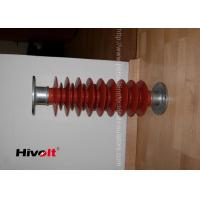 Quality Red Color Polymer Post Insulator , 46kv Post Insulator For Switch Gear Parts wholesale