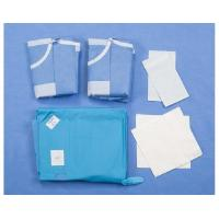 China Urology TUR Custom Procedure Packs , Cloth Surgical Pack Wraps on sale
