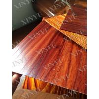 Quality Wood grain transfer Aluminium Window Profiles for decoration material wholesale