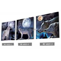 Buy cheap PET Plastic Printing Service / 3D Lenticular Pictures 40x40cm Home Decoration from wholesalers