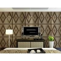 Quality Leather Home Accessories Home Decor Wallpapers 3D Effect Sofa Wall Backdrop Panel wholesale