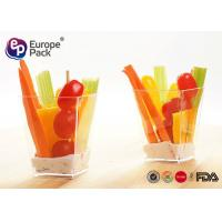 Buy cheap Ice Cream Disposable Dessert Plastic Containers 5 Oz For Party / Wedding from wholesalers