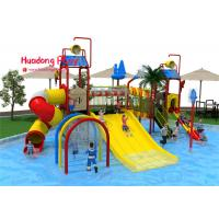 China High Safety Water Park Playground Equipment High - Strength Material Wide Color Range on sale