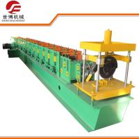 China 8.5KW Highway Guardrail Roll Forming Machine With Smart Self Lock Device on sale