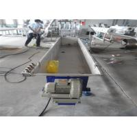 China Plastic PE Granules Extrusion Machinery , Plastic PE Film Recycling Granules Production Line on sale