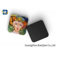 Quality Square Wine Tea Cup Custom Printed Coasters 3D Lenticular Printing Service wholesale