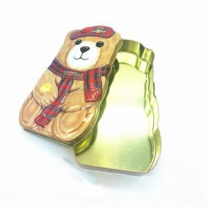 Quality Promotional Bear Candy Box Cake Tin Box Cheap Gifts Logo Customized wholesale