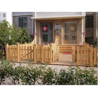 Buy cheap outdoor WPC fence for park decorating from wholesalers
