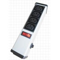 Quality 4 Outlets PDU Power Strip and Switch with Circuit Breaker , Smart Multi Plug Extension Cord wholesale