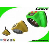 Quality Impact Resistant Cordless Mining Lights 25000Lux With OLED Screen Head Lamp wholesale
