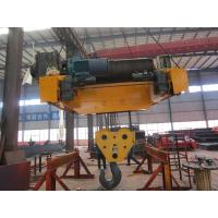 Quality Medium Duty Electric Trolley Hoist With Non-Rotating Wire Rope wholesale