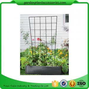 "Quality Sturdy Metal Vegetable Garden Trellis , Garden Green Bean Trellis 56"" trellis is 47-1/2"" H installed; 30"" W at the top a wholesale"