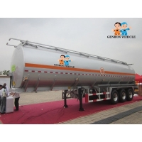 China ABS Locking Air Suspension Storage FUWA 25m3 Water Tank Trailer on sale