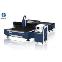 Quality Metal Sheet / Tubes Industrial Laser Cutting Machine Dual Motor High End CNC System wholesale