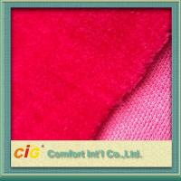 Buy cheap Top Printing Jacquard Faux / Synthetic Fur Fabric Strong Fashion For Garment product