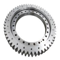 China 50Mn turntable bearing, China slewing ring manufacturer, single row ball external gear slewing bearing on sale