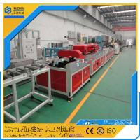 China Pvc integrated wood-plastic composite production line / equipment on sale