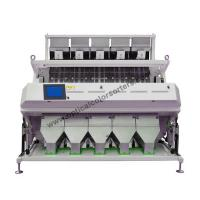 China One Key Intelligent Chute Sorter , Full Color CCD Camera Color Sorter on sale