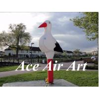 Quality outdoor 10ft beautiful airblown inflatable stork model for advertising wholesale