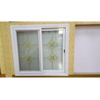 Quality Living Room Tempered Glass Aluminium Sliding Windows Thermal Break With Louver wholesale