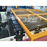 Quality 30m / Min Standing Seam Roll Former , Wall Panel Roll Forming Machine With Hydraulic Decoiler wholesale
