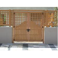 Outdoor Water - Proof Wood Plastic Composite Fence Posts Boards Panels