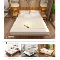 Cheap Simple Japanese tatami type bed 1.5 meters MDF with metal double bed and 1.8 single bed 1.2 modern creative walnut color for sale