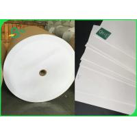 Quality 100% Virgin Food Grade White Color Kraft Paper For Flour Package 60gsm To 120gsm wholesale