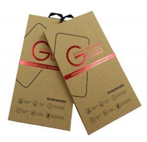 Kraft Paper Custom Printed Packaging Box For Mobile Phone Film Packaging