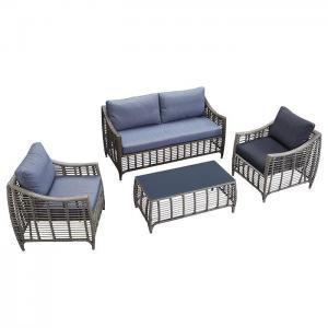Quality Outdoor Sofa 4 PCS PE Rattan Wicker Garden Furniture wholesale